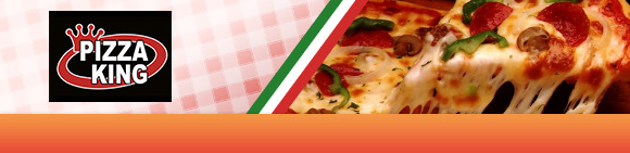 Pizza King Bundbanner